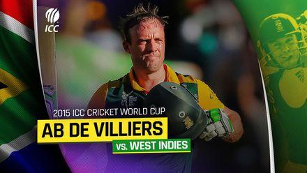 AB de Villiers' brilliant 2015 World Cup century