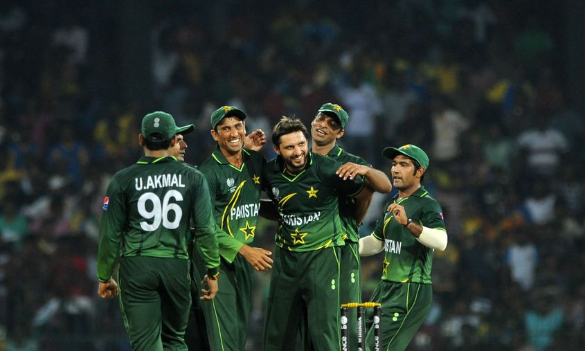 Shahid Afridi was the star of Pakistan's win against Sri Lanka.