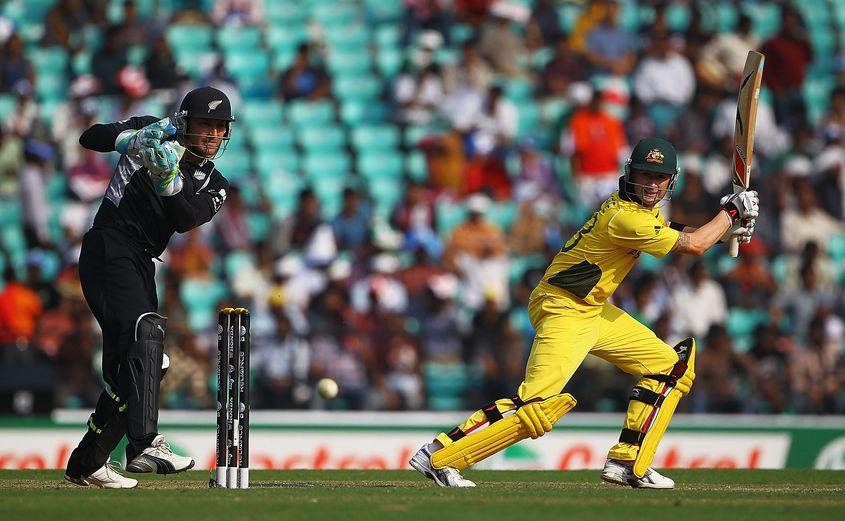 Australia beat New Zealand comfortably.
