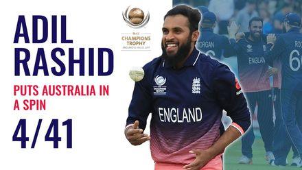 Adil Rashid puts Australia in a spin | CT 2017