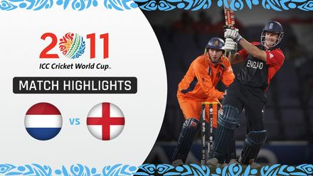 CWC11 Rewind: M5 England win despite stunning Ryan ten Doeschate ton for Netherlands