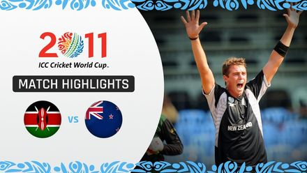 CWC11 Rewind: M2 NZ v KEN – New Zealand skittle out Kenya for 69 in comfortable win