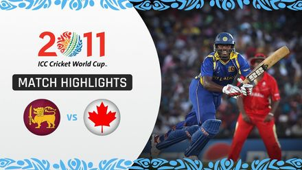CWC11 Rewind: M3 SL v CAN – Jayawardene leads Sri Lanka to big win over Canada