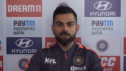 Virat Kohli discusses the pink ball ahead of third Test