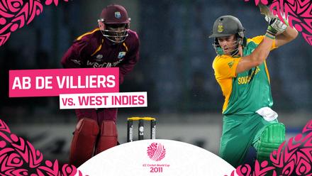 CWC11 | AB de Villiers hits classy unbeaten century vs West Indies