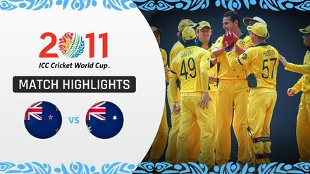 CWC11 Rewind: M8 Australia's fast bowlers seal a win over New Zealand