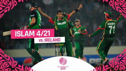 CWC11 | Shafiul secures Bangladesh vital victory v Ireland