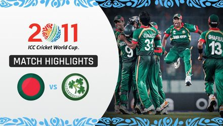CWC11 Rewind: Match 9 Bangladesh bowlers hold their nerve to beat Ireland
