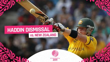 CWC11 | Haddin Dismissal v NZ