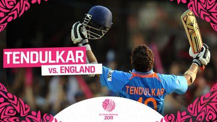 CWC11 | Sachin Tendulkar turns on the style with stunning century