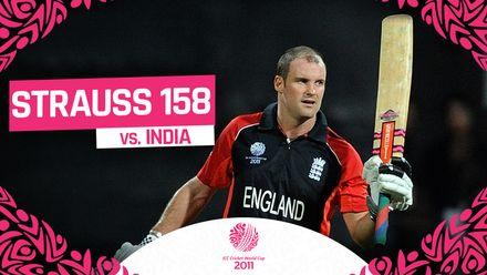 CWC11 | Strauss knocks his highest ODI score to stun India