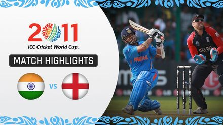 CWC11: M11 India and England in dramatic tie as Tendulkar and Strauss score centuries