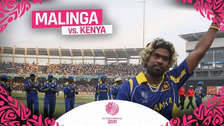 CWC11 | Malinga six wickets including a hat-trick against Kenya