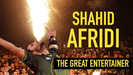 Shahid Afridi – an all-round entertainer