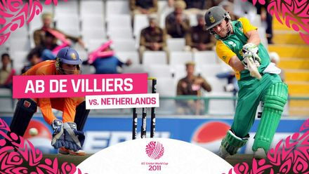 CWC11 | AB de Villiers exhibition in manipulating the field against Netherlands