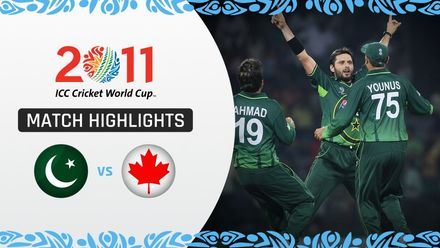 CWC11: M17 Afridi's five seals Pakistan qualification to the quarter finals