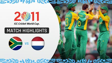 CWC11: M16 AB de Villiers and Hashim Amla reeled off contrasting hundreds to hammer Netherlands