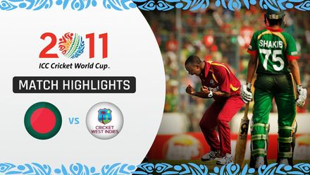 CWC11: M19 Bangladesh out for 58 as West Indies bowlers torment the hosts