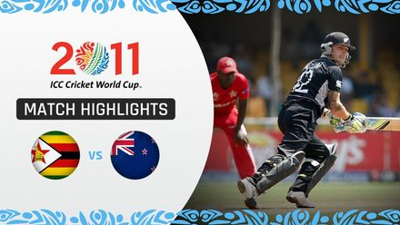 CWC11: M18 New Zealand ease to 10-wicket victory over Zimbabwe