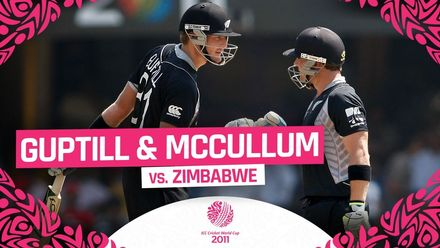 CWC11 | New Zealand's Guptill and McCullum chase down 163-run target