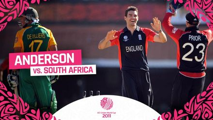 CWC11 | Anderson puts England back on track with the key wicket of AB de Villiers