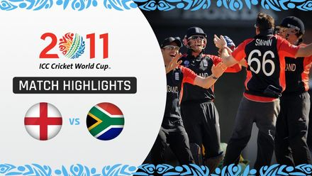 CWC11: M21 England conjured a stunning fightback to beat South Africa by six runs
