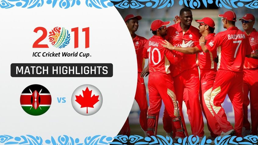 CWC11| M23 Canada pick up second ever World Cup win with victory over Kenya