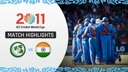 CWC11: M22 Ireland's spirited show not enough in this hard fought win for India