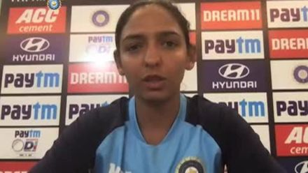 Harmanpreet Kaur: 'We'll definitely learn from our mistakes'