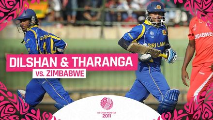 CWC11: Dilshan and Tharanga blast 282-run opening stand