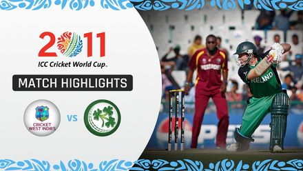 CWC11: M27 West Indies batters overpower Ireland to claim victory