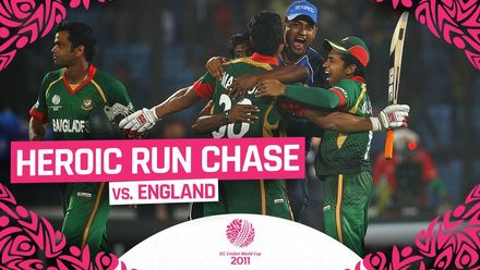 CWC11: Final moments as Bangladesh pull off an incredible run chase