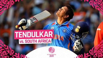 CWC2011: Sachin's 100 oozed class playing on his own terms