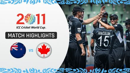 CWC11: M31 97-run win for New Zealand as Canada suffer another heavy defeat