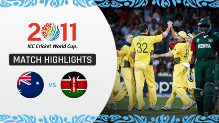 CWC11: M30 Australia are champions but Kenya stand tall with their best performance of the tournament