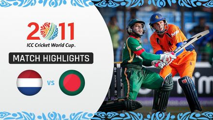 CWC11: M32 Imrul Kayes stars in Bangladesh's six-wicket win over Netherlands