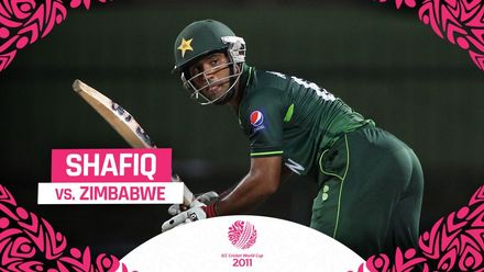 CWC11: Zimbabwe had no answers to stop Asad Shafiq