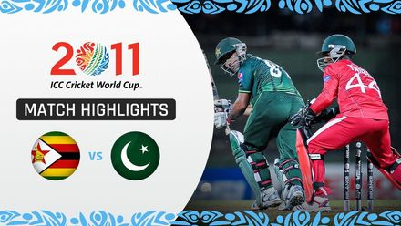 CWC11: M33 All-round Pakistan trump Zimbabwe by seven wickets