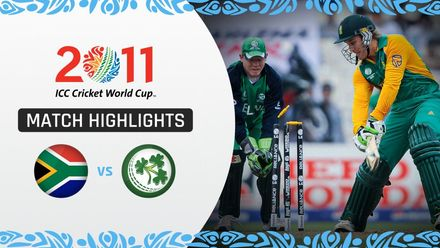 CWC11: M34 South Africa trump Ireland thanks to Duminy's brilliance