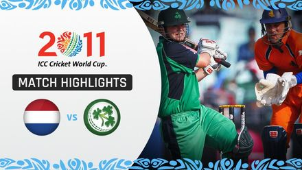 CWC11: M37 Ireland trump Netherlands thanks to Stirling ton