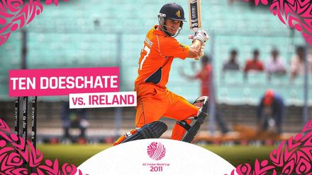 CWC11: Terrific ten Doeschate tons up