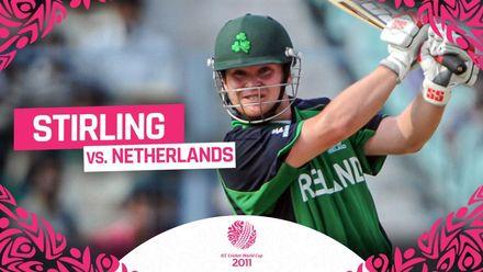 CWC11: Super Stirling smacks 101 off 72 balls