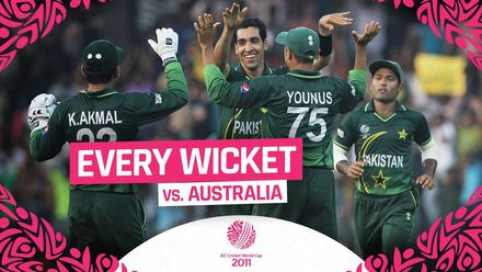 CWC11: All 10 wickets as Pakistan attack dismantles Australia
