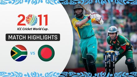 CWC11: M39 Peterson stars as South Africa ease past Bangladesh