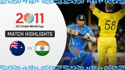 CWC11: QF2 India end Australia's reign as world champions