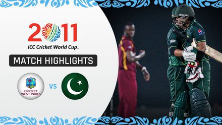 CWC11: QF1 Dominant Pakistan dismantle West Indies to reach semi-finals
