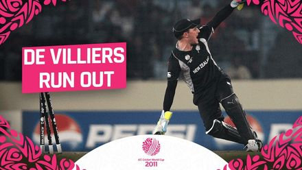 CWC11: Disaster for South Africa as de Villiers is run out