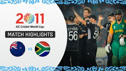 CWC11: QF3 New Zealand's stunning upset knocks out South Africa