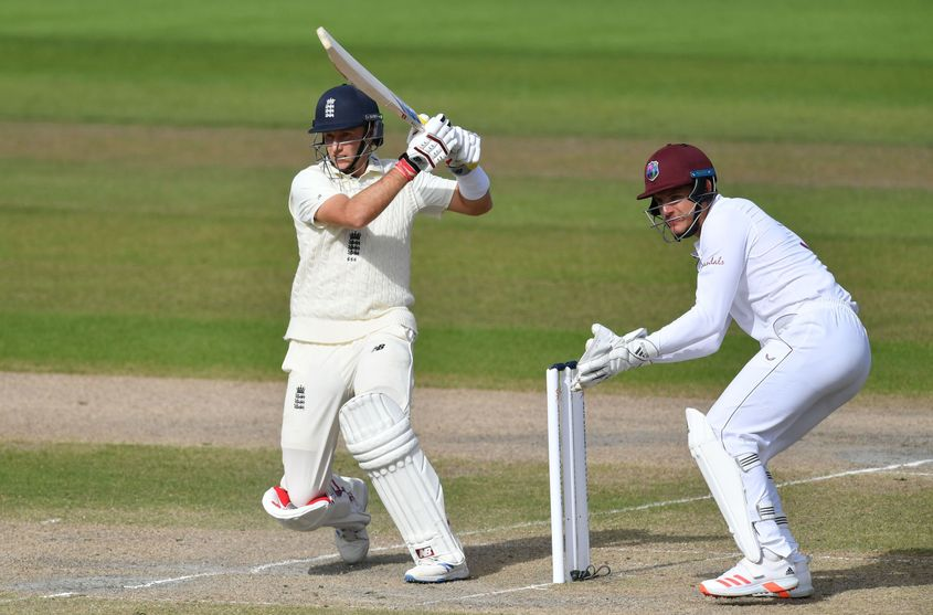 England and the West Indies played a three-Test series in 2020.