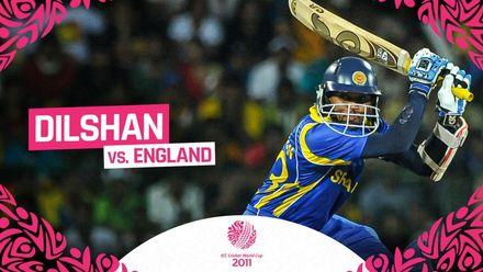CWC11: Dilshan masterclass blows England away